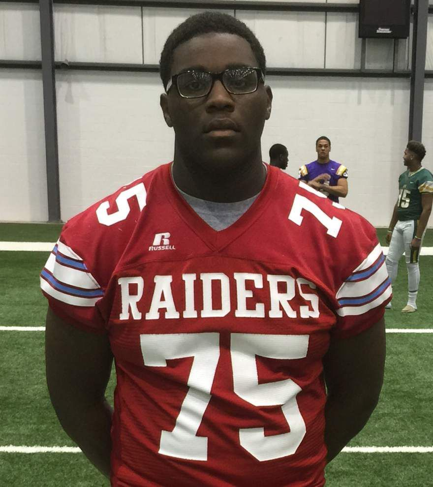 Rummel offensive lineman Larry Robinson commits to Southern Mississippi _lowres