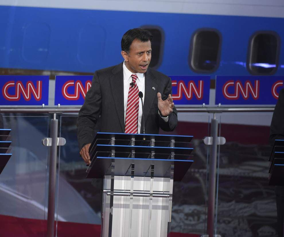 Bobby Jindal renews attack on Donald Trump in presidential debate _lowres
