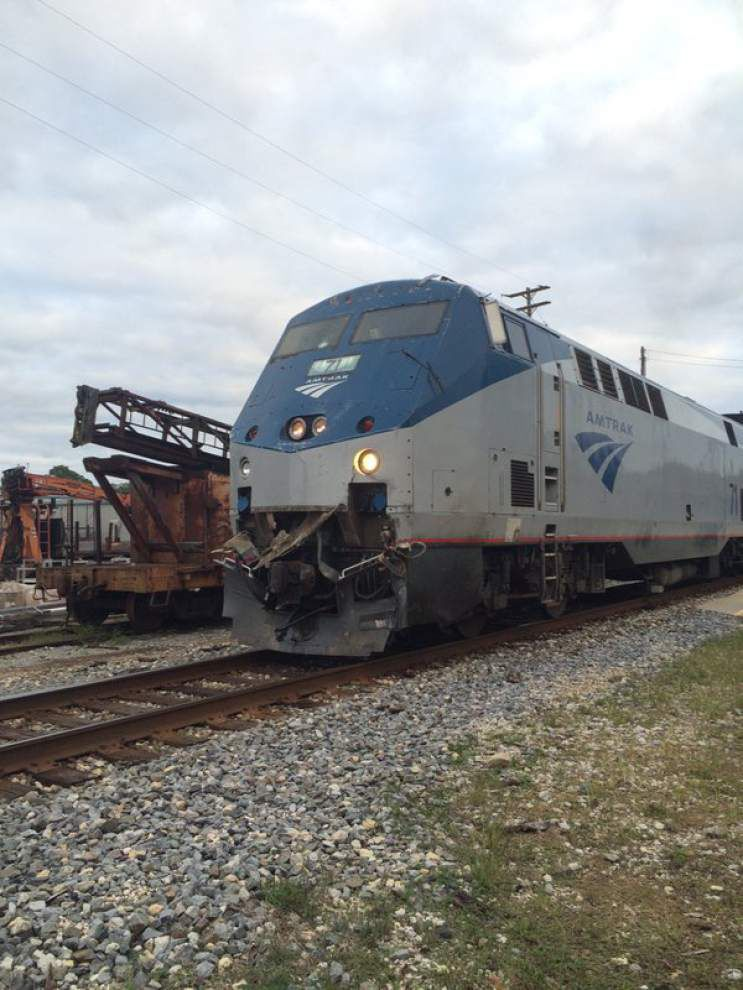 Amtrak train collides with 18-wheeler south of Ponchatoula, no reports of serious injuries _lowres