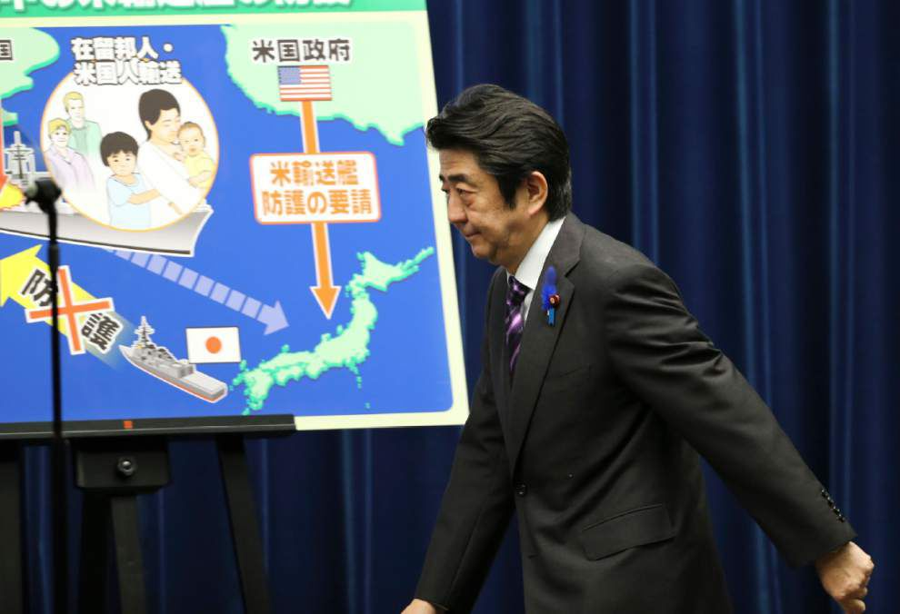 How Japan can use its military after policy change _lowres