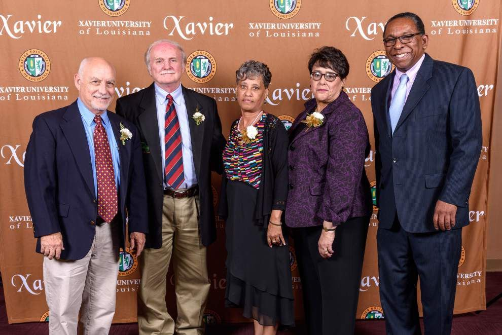 Xavier University honors service of staff and faculty members _lowres