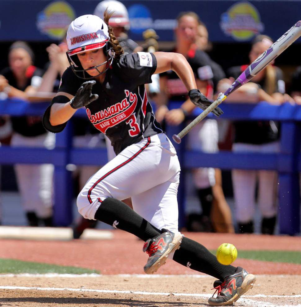 Former Ragin' Cajuns softball player Natalie Fernandez among 130 candidates for NCAA Women of the Year honor _lowres