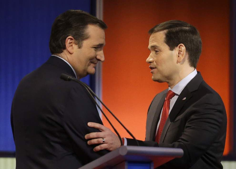 Analysis: TV ads for Ted Cruz, Marco Rubio are only ones to hit Louisiana airwaves _lowres