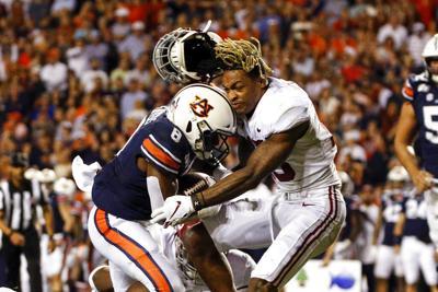 APTOPIX Alabama Auburn Football