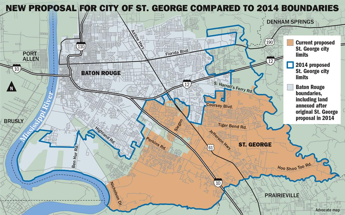 st george map get detailed view of adjusted boundaries of proposed new city