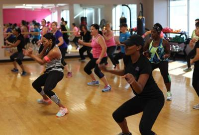 Soul Grooves class at fitness center energizes members _lowres