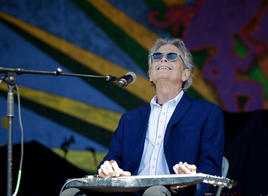 Spencer Bohren, subject of a memorial gathering Sunday, gave his own eulogy at Jazz Fest