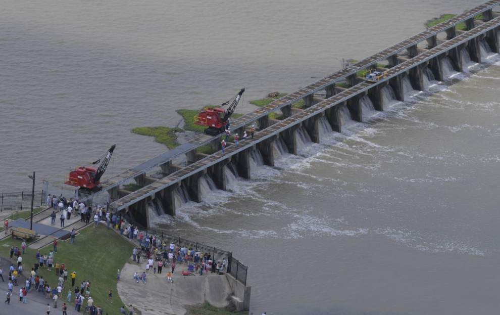 File photos, video show the rush of water, public spectacle of opening Bonnet Carré Spillway _lowres