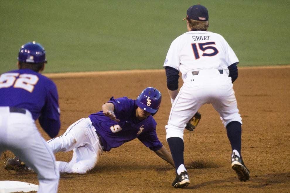LSU baseball postgame: Tigers win at Auburn 10-0 _lowres