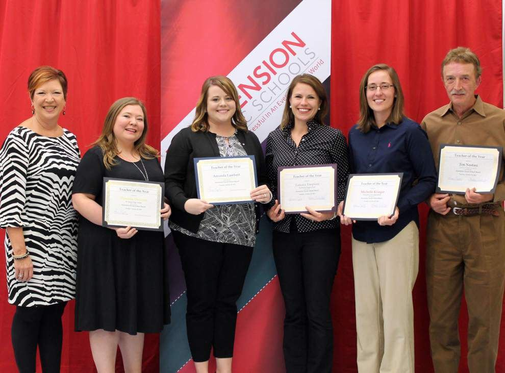 Ascension's top educators honored _lowres