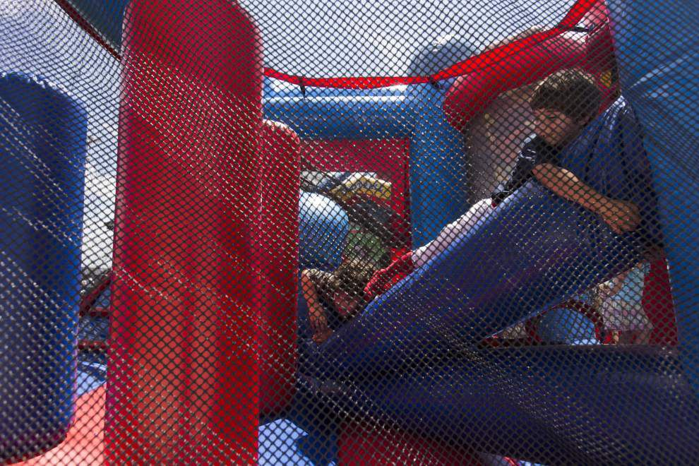 Residents celebrate Youngsville Sports Complex grand opening _lowres