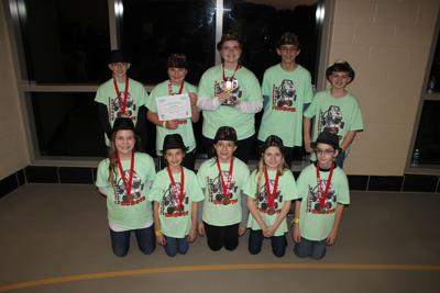St. Theresa Middle FLL Robotics Trophy