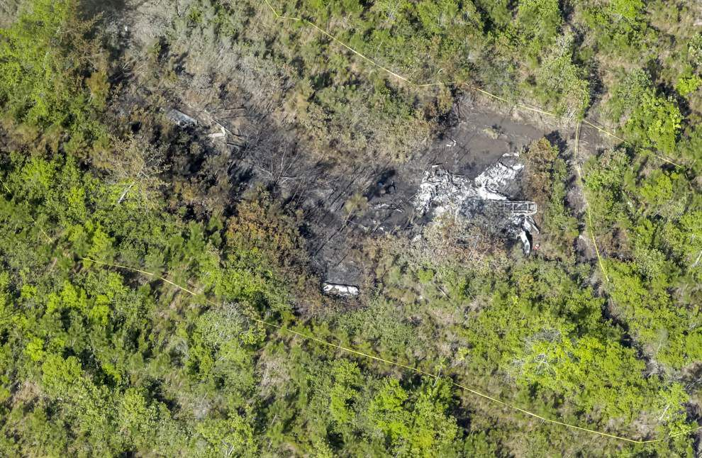 Pilots mourned by friends, colleagues following Tuesday-night crash in Slidell _lowres