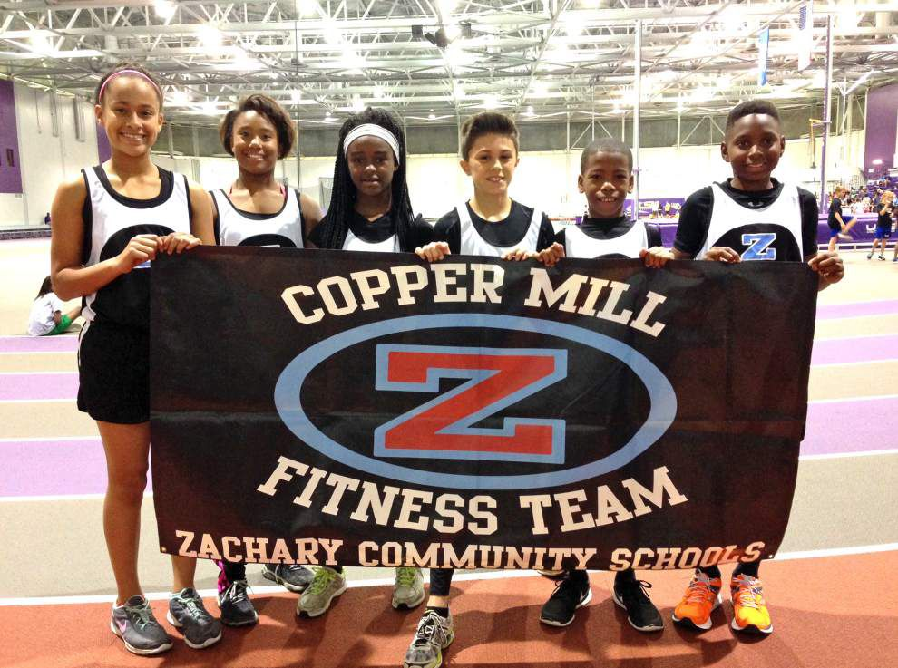 Copper Mill squad places 8th at fitness meet _lowres
