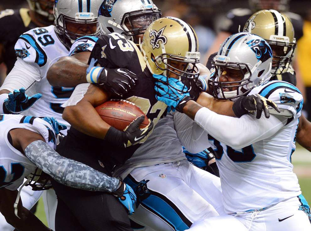 RB Pierre Thomas fighting for his Saints future _lowres
