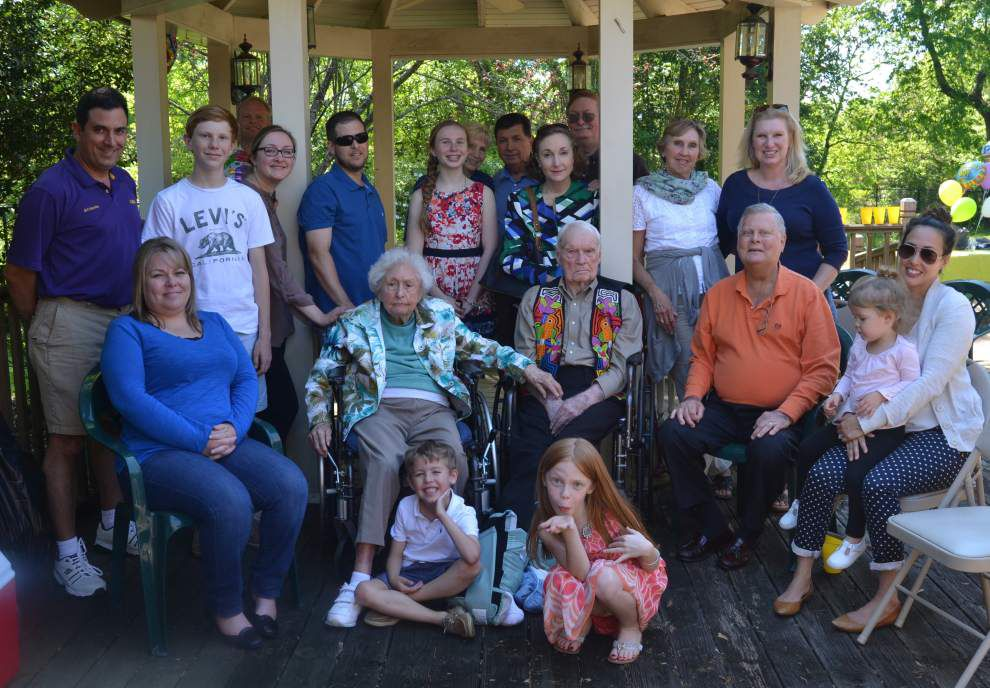 Family gathers for Meyer's 97th birthday _lowres