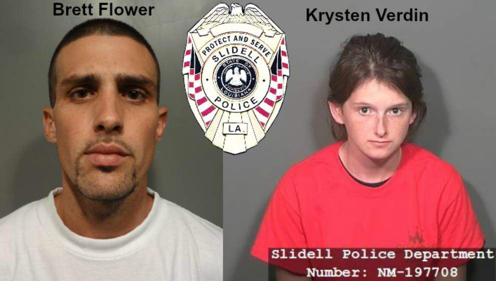 Slidell couple booked for pouring beer down child's throat, slapping him _lowres