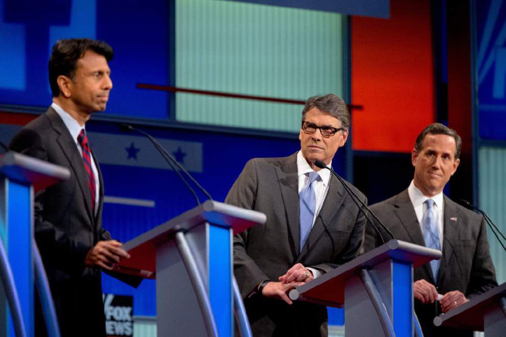 Stephanie Grace quick take: Bobby Jindal defends Louisiana record, attacks Planned Parenthood, surprises with one (non) answer _lowres