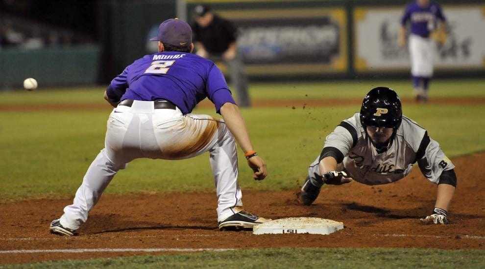 LSU baseball pregame: Purdue vs. LSU at Alex Box _lowres