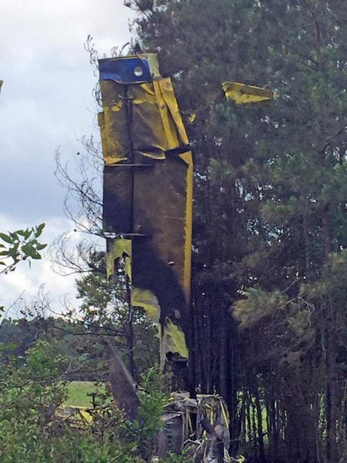 Pilot killed in Acadia Parish after crop duster clips trees _lowres