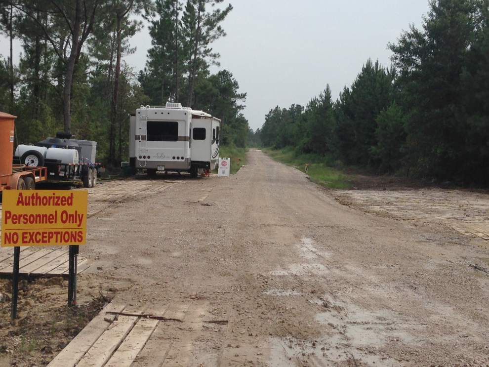 St. Tammany Parish orders halt to work on controversial fracking well _lowres