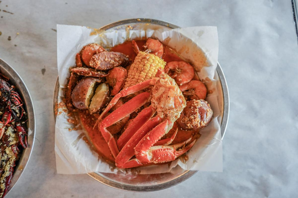 Restaurant Review Seafood Restaurant Fiery Crab Is Going