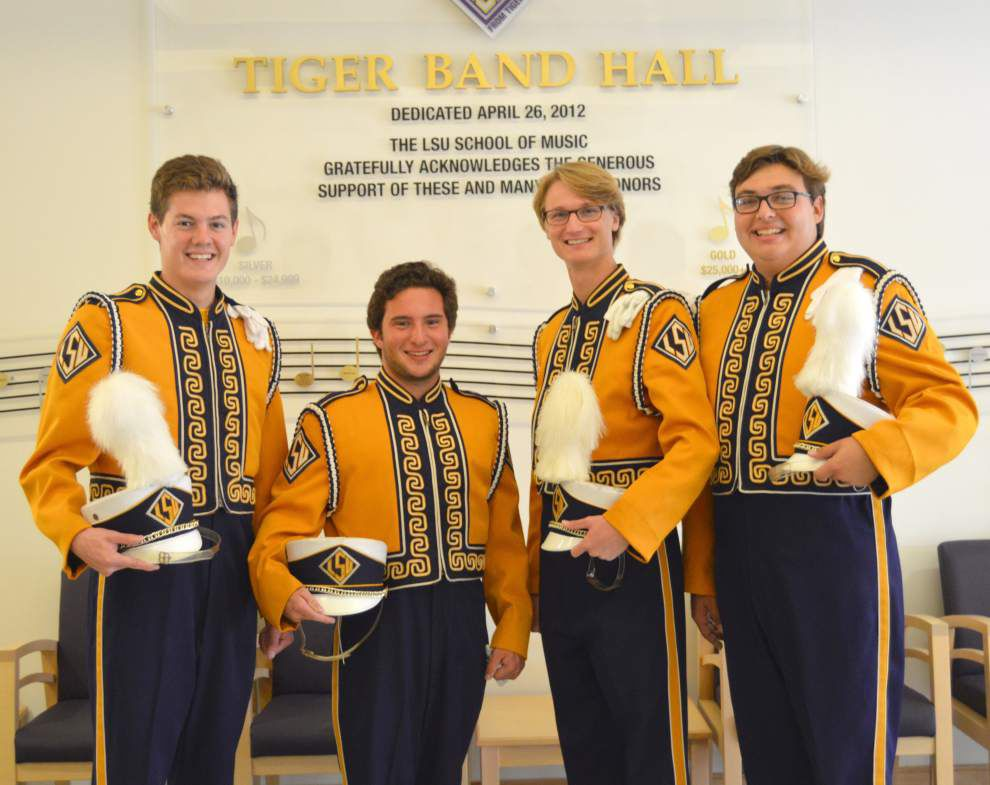 Young Metairie musicians reunite in LSU band _lowres