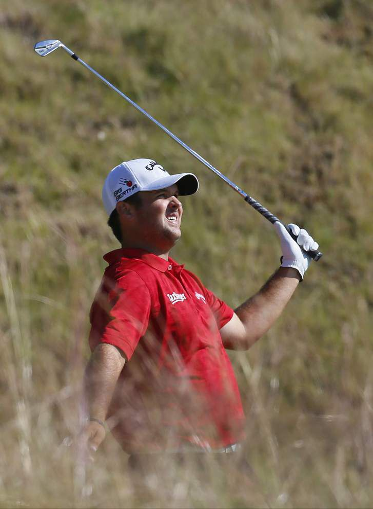 Patrick Reed has a share of the lead after 36 holes at the U.S. Open _lowres