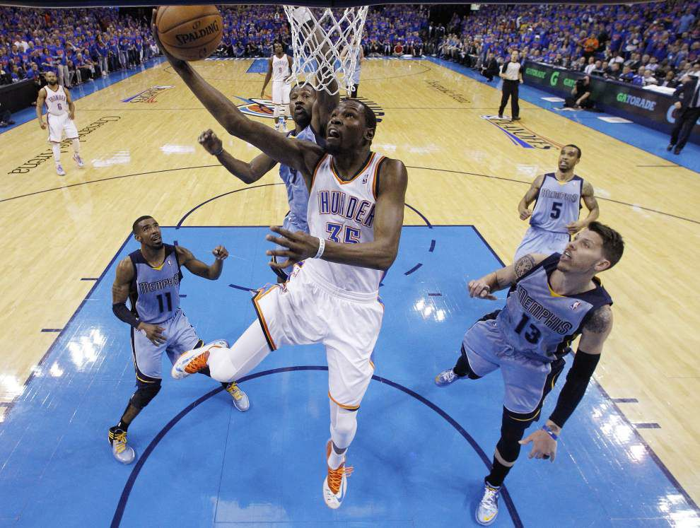 Thunder, Pacers advance in NBA playoffs _lowres