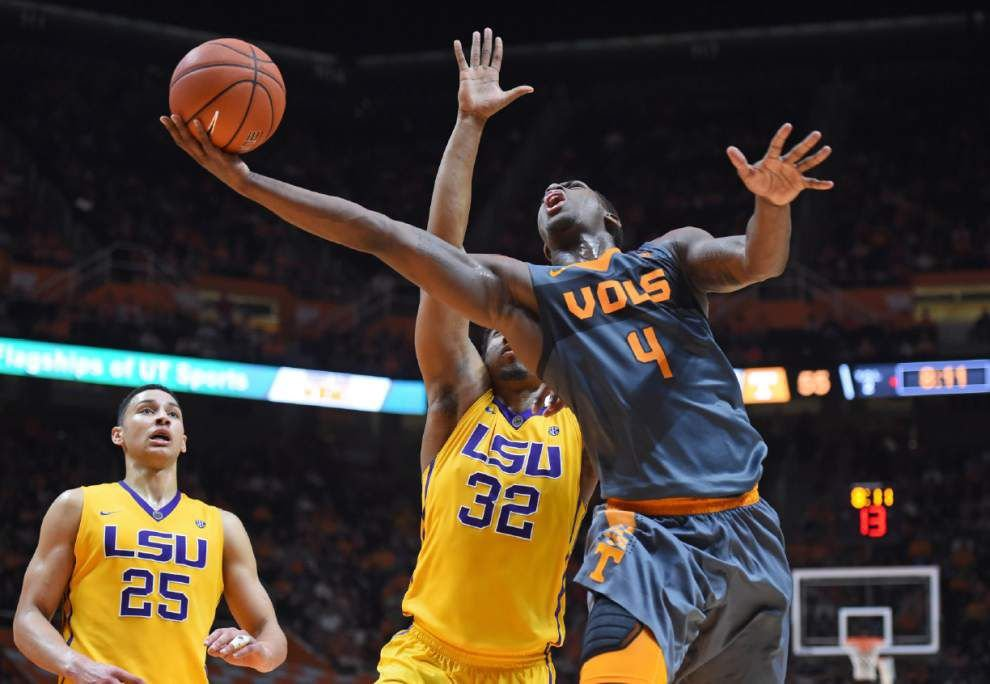 'Academic stuff' sidelined LSU's Ben Simmons at start of Saturday's loss to Tennessee, coach Johnny Jones says _lowres