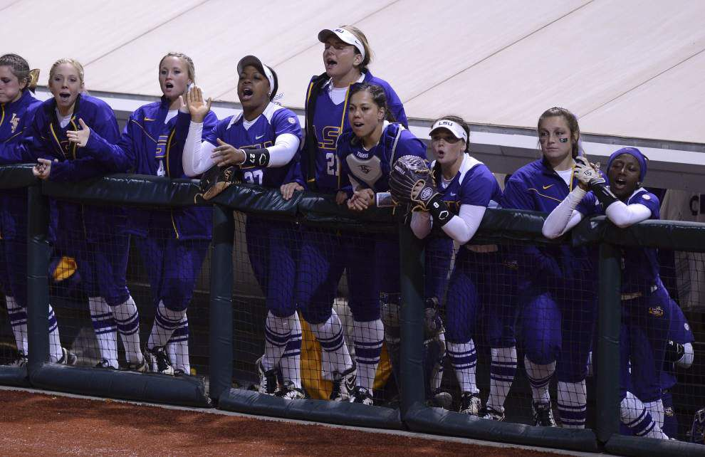 LSU softball makes program history, ranks No. 1 in latest national rankings _lowres