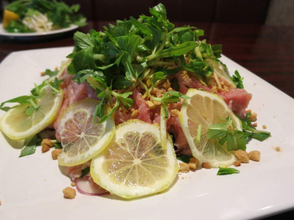 Raw beef salad, pho, spring rolls join French Quarter food options when Nine Roses Café opens next week _lowres