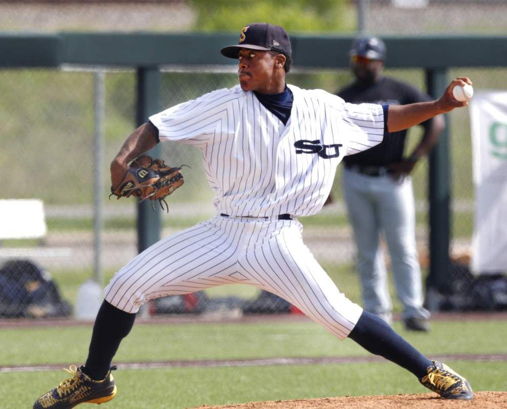 Southern baseball team at full strength for series at Auburn _lowres