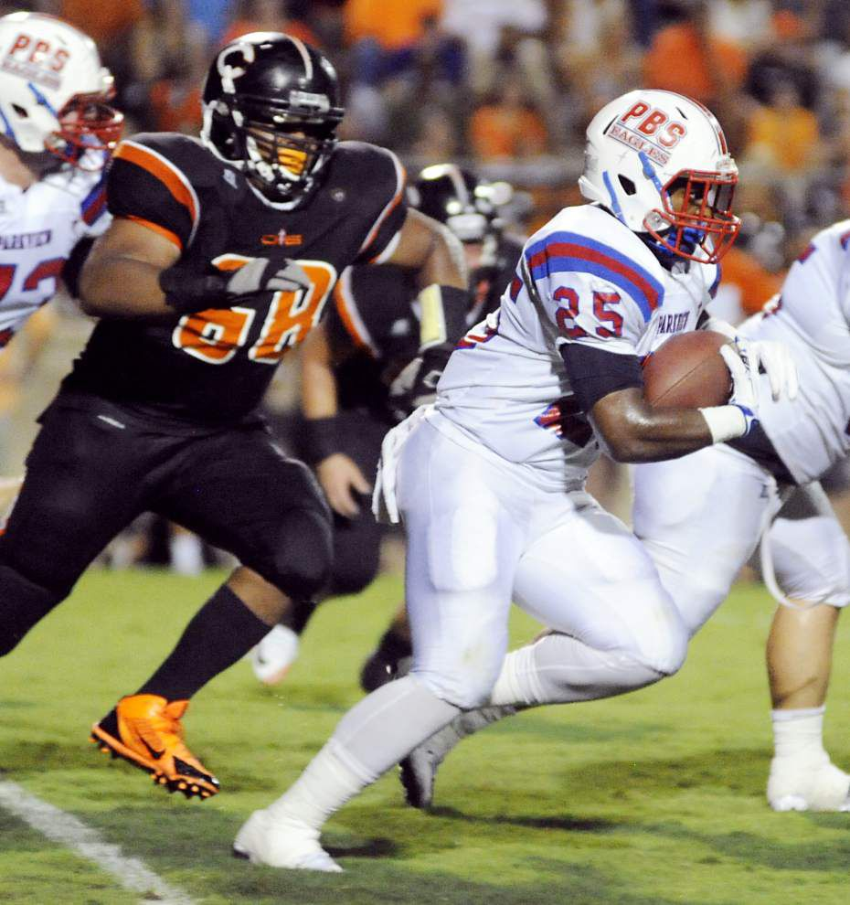 Parkview Baptist's Kayin White commits to UL-Monroe, and Zachary's Terry Sullivan picks Jackson State as signing day draws near _lowres