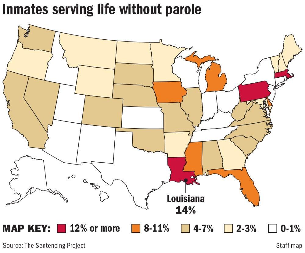022121 Life without parole percentages map