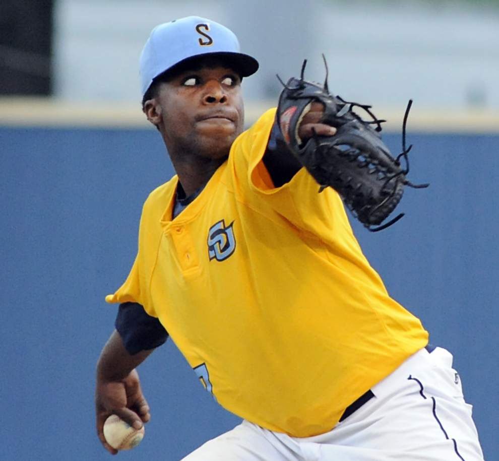 Southern ends 9-game losing streak as Daniel Franklin pitches a gem _lowres