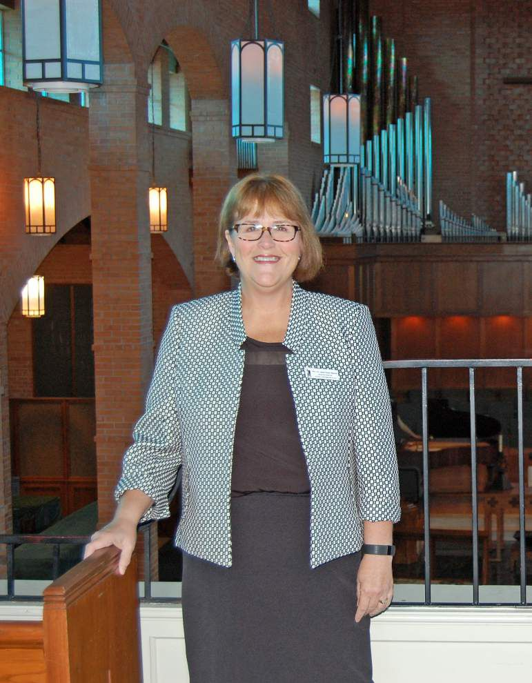 Rev. Jane Youtz Riecke leading University Methodist, continues trend of being a church's first female pastor _lowres