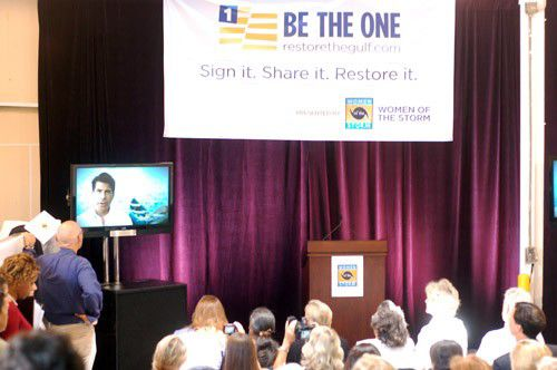 "Women of the Storm launch ""Be The One"" video to draw attention to Gulf restoration_lowres"