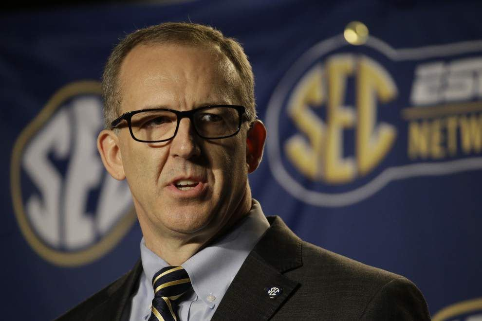 Rabalais: Five items (blow up football scheduling; leave Birmingham) to add to new SEC commissioner Greg Sankey's to-do list _lowres