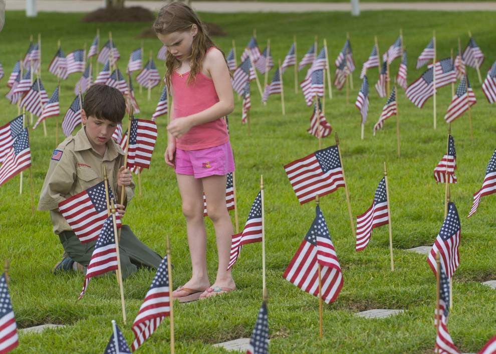 Photos: Flags at Port Hudson _lowres