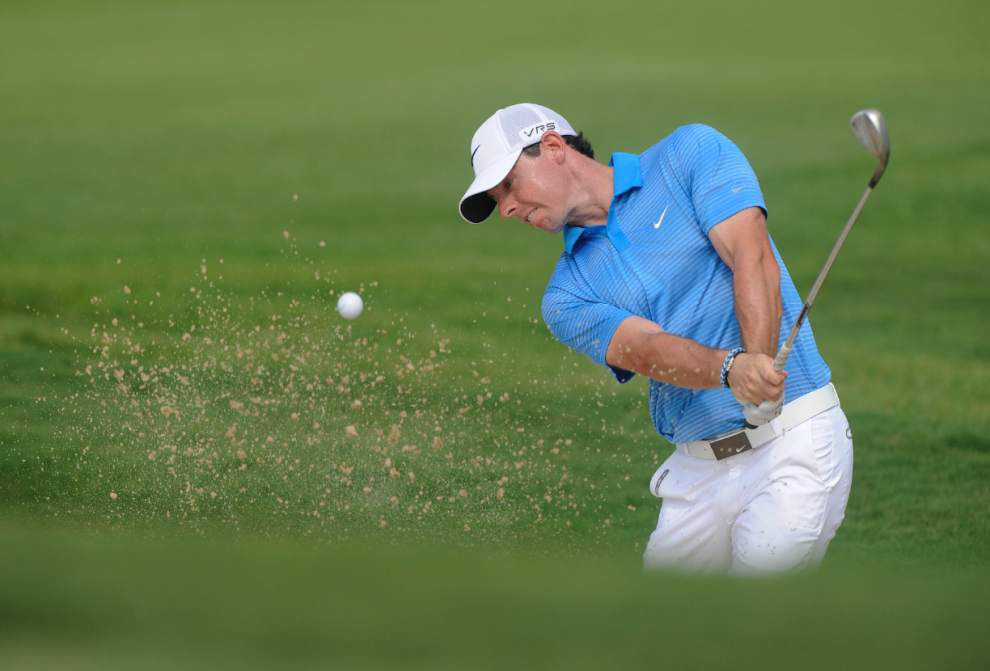 Rory McIlroy, Billy Horschel tied for Tour Championship lead _lowres