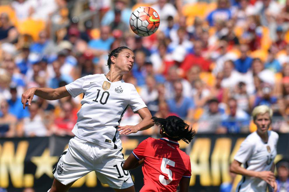 U.S. women's soccer team coming to New Orleans in December for game against China _lowres