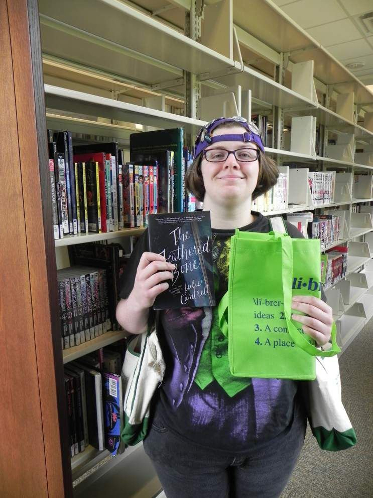 Livingston Parish libraries recognize patrons _lowres
