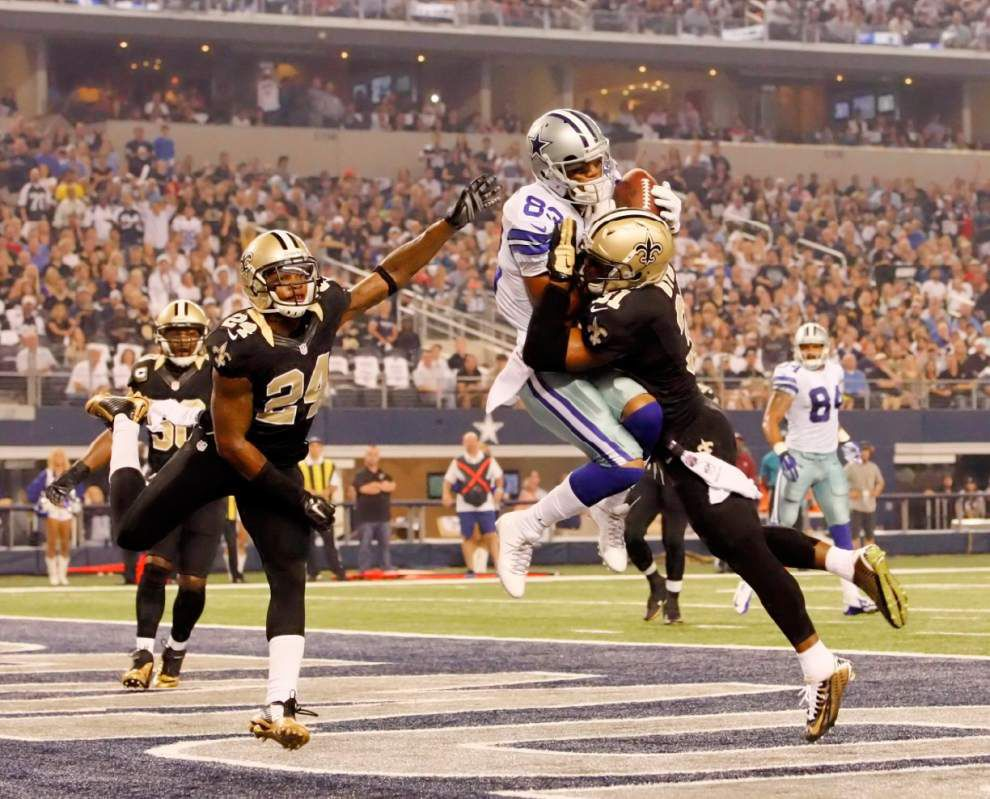 Miscues, injury to key offensive lineman add up in Saints' loss to Cowboys _lowres