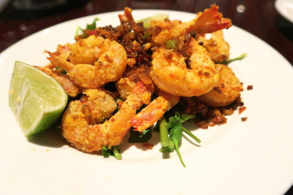 A different fried shrimp fix: peppery, twice-fried seafood is a change of pace for a staple of Lent around New Orleans _lowres