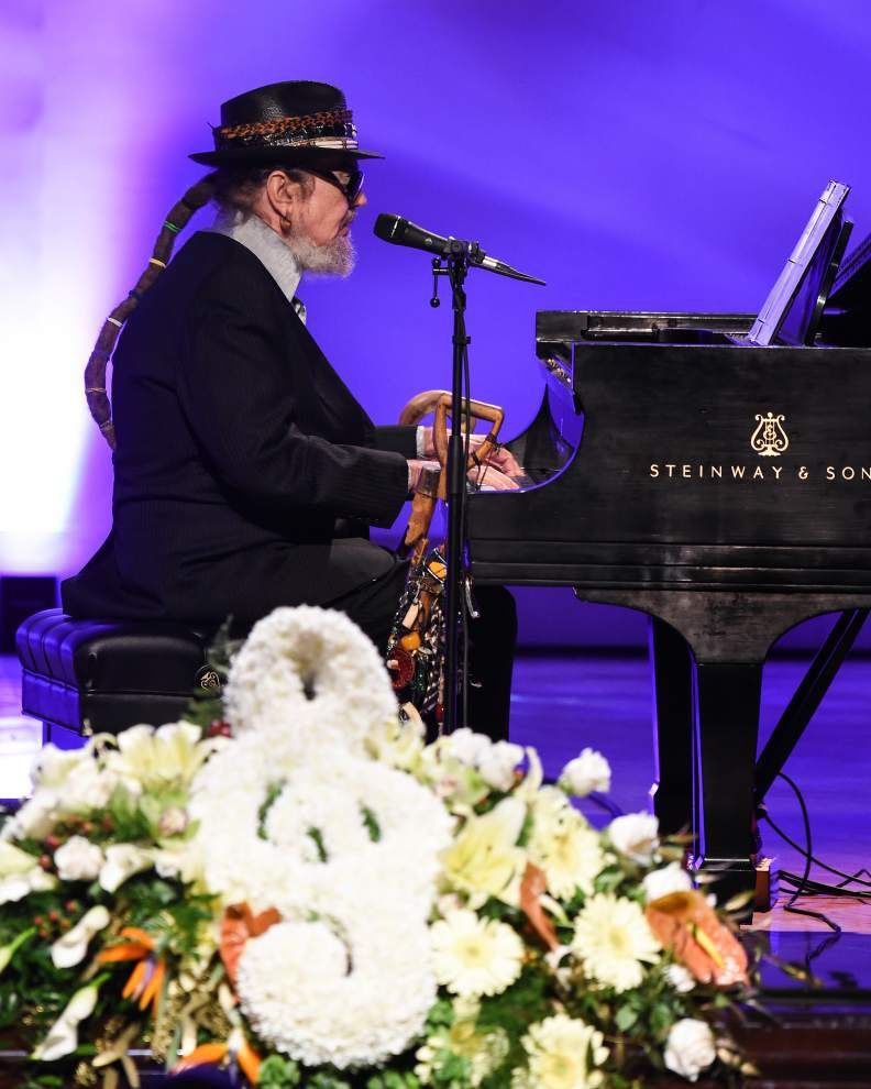 """Stars send off Allen Toussaint with his own tunes; """"Allen didn't have a song. He was the song."""" _lowres"""