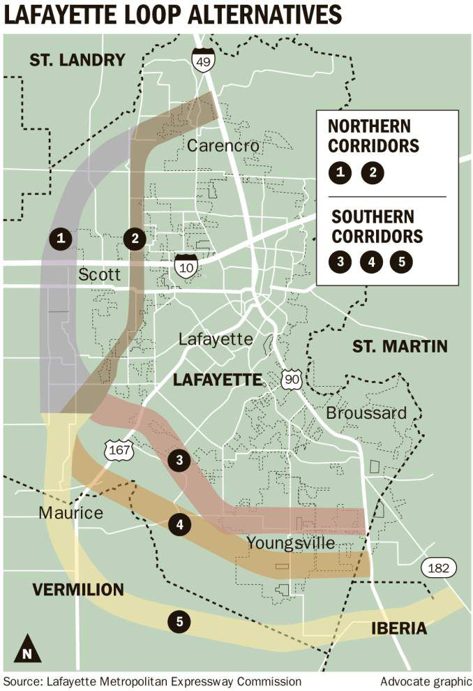 Proposed toll road loop around Lafayette 'back on front burner' _lowres