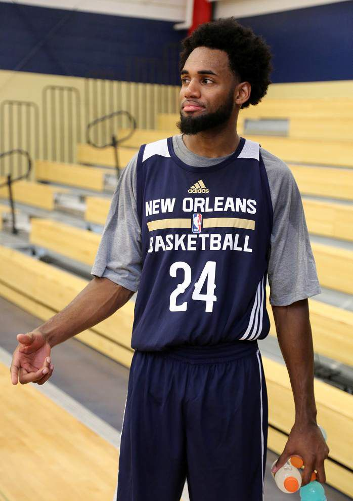 Former Tulane star Jay Hook taking his best shot in NBA summer league _lowres