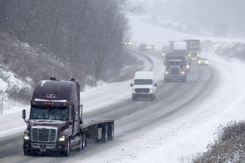 Northeast bracing for potentially historic storm; south Louisiana weather forecast this week looks much different _lowres