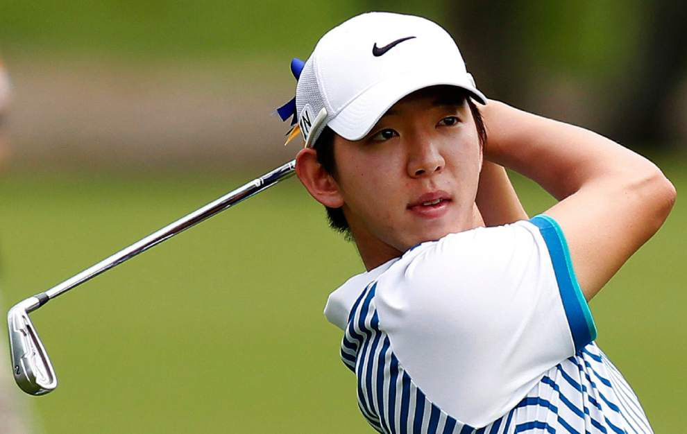 Defending Zurich Classic champion Seung-Yul Noh reflects on first PGA title _lowres